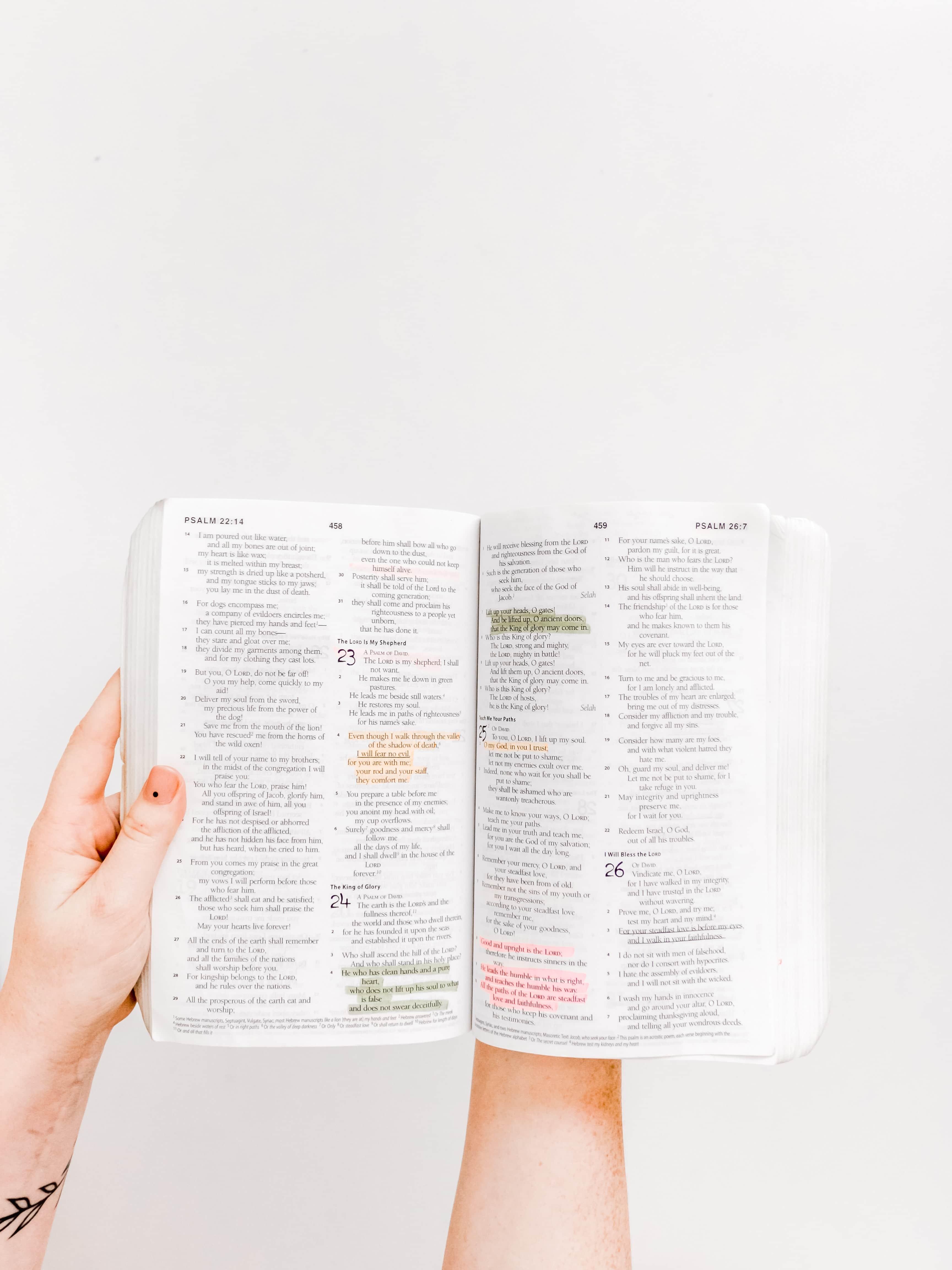 Sur l'importance de lire la Bible